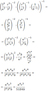 powers solved exercises symplifying exponents secondary