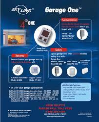 Garage Door Safety Features by Skylinkhome Com Garage Door Auto Closer Model Gt 100a