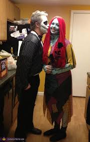 Jack Skeleton Costume Jack Skellington And Sally Couples Costume Photo 3 3