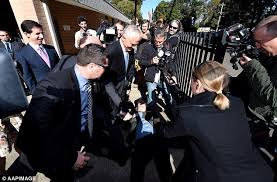 chaser crew ambush malcolm turnbull s caign with a cutout of