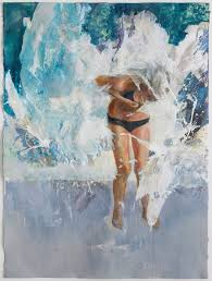 saatchi art artist mice key painting the swimming pool part of the