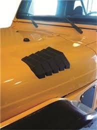 jeep hood vents daystar black side jeep wrangler hood vent