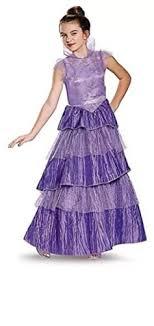 mal costume disney deluxe mal costume coronation dress descendants large