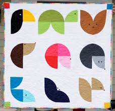 wee animal quilt tutorial knit stitch click
