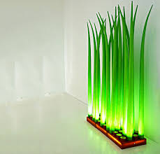led grass floor lamp lighting we love at design connection inc