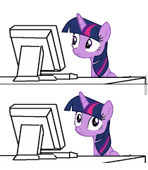 Meme Monitor - 1578406 alicorn computer keyboard meme monitor pony reaction