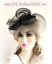 funeral hat designer fascinator cocktail hat wedding funeral hair headpiece