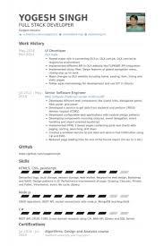 database developer resume sample senior web developer resume