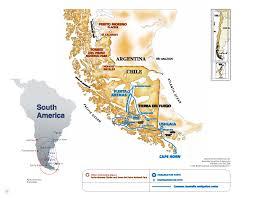 Patagonia Map Australis Cruise Patagonia Cruises Expedition Trips U0026 Travel