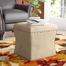 Kinfine Storage Ottoman Kinfine Ottoman Wayfair