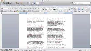 how to get a resume template on microsoft word how to create columns in microsoft word youtube