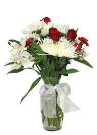 Bouquet Of Flowers In Vase In Bloom Floral Super Saver