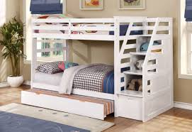 Bunk Beds Trundle Cosmo Bunk Bed With Trundle And Storage Reviews