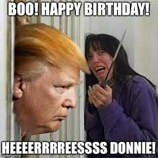 Memes For Birthdays - donald trump here s donny imgflip