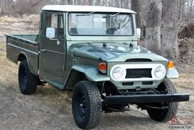 land cruiser pickup toyota landcruiser hj45 pick up diesel 160 pictures like fj45 fj40
