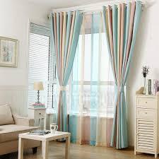Multi Color Curtains Beautiful Curtains Multi Color Striped Print Room Darkening