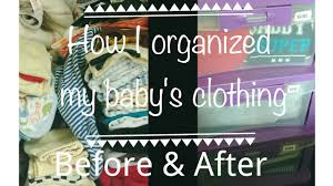 how i organize baby clothing how to organize kids wardrobe easy