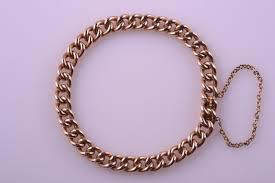 rose link bracelet images 15ct rose gold victorian hollow curb link bracelet antique jpg