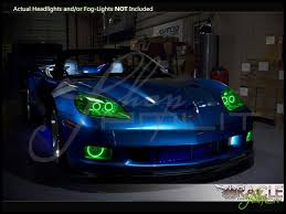 05 13 chevrolet corvette c6 plasma halo rings headlights bulbs