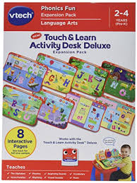 vtech write and learn desk vtech touch and learn activity desk deluxe expansion pack phonics