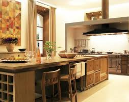 custom wood kitchen design showing off beautiful natural material