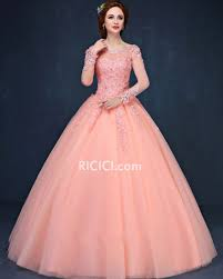 coral quince dresses gown appliques open back coral prom quinceanera dress coral