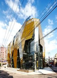 yellow diamond by jun mitsui u0026 associates architects