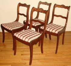 duncan phyfe 1940s 9 piece mahogany dining room set 6 shield back