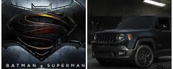 batman jeep novità auto jeep renegade dawn of justice motorbox
