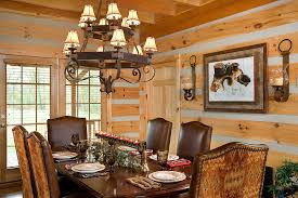 Log Cabin Dining Room Furniture Log Vacation Home Log Homes Timber Frame And Log Cabins By