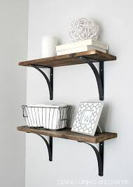 bathroom shelf decorating ideas best 25 diy wall shelves ideas on picture ledge