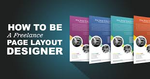 how to be a freelance page layout designer