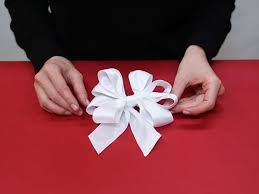 ribbon bow how to make a bow