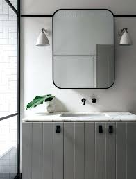 Frame Bathroom Mirror Metal Bathroom Mirror Higrand Co