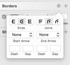 can i change the border radius of rounded end in sketch graphic