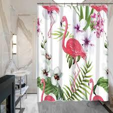 Flamingo Shower Curtains Curtains Flamingo Shower Curtain Walmart Flamingo Shower Curtain