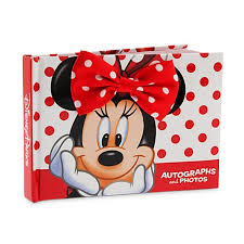 minnie mouse photo album autograph book and photo album minnie mouse