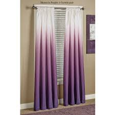 Purple Polka Dot Curtain Panels by Shades Ombre Curtains Curtains Shades And Violets