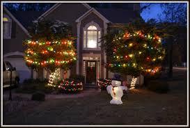 easy outdoor christmas lights ideas sacharoff decoration