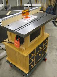 Router Cabinet by Router Table Cabinet For Bench Dog Cast Iron Router Table