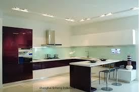 lacquered glass kitchen cabinets high gloss lacquer kitchen cabinet mordern lh la048