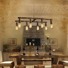 Lighting Fixtures Dallas Tx 8 Light Industrial Style Lighting Fixtures Bar Counter For Stylish