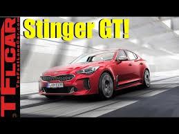 Kia Rwd 2018 Kia Stinger Gt Kia Unveils A Fast Rwd