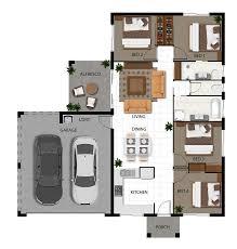 Floor Plan 2d 4th Level 2d Colour Floor Plan For A 4 Level Multi Unit