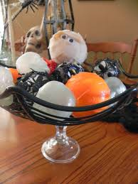 Decorative Spheres For Bowls The Messy Roost Diy Halloween Decorative Balls