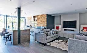 open kitchen living room floor plans open plan kitchen living room and dining smith design top 500x375
