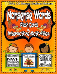 nonsense words thanksgiving interactive activities for aimsweb