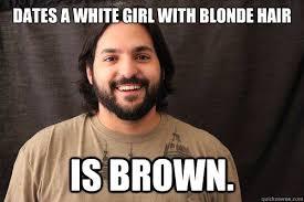 Blonde Meme - blonde hair girl meme mne vse pohuj