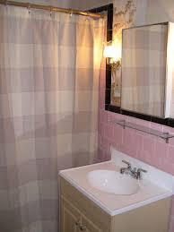 bathroom tile vintage white tile gray floor tile