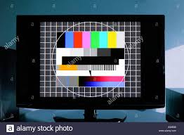 test pattern media television test pattern stock photo 277264904 alamy